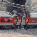 ग्वालियर: बर्निंग ट्रेन बनी एपी एक्सप्रेस, 3 बोगियों में लगी ..