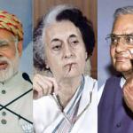 सर्वे में नरेंद्र मोदी अबतक के सबसे बेहतर PM, इंदिरा ..