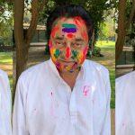 मुख्यमंत्री कमलनाथ होली की फोटो वायरल करके ट्रोल हो गए