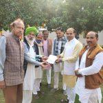 श्री राम जन्मभूमि मंदिर निर्माण के लिए अरविंद धाकड़ द्वारा ..